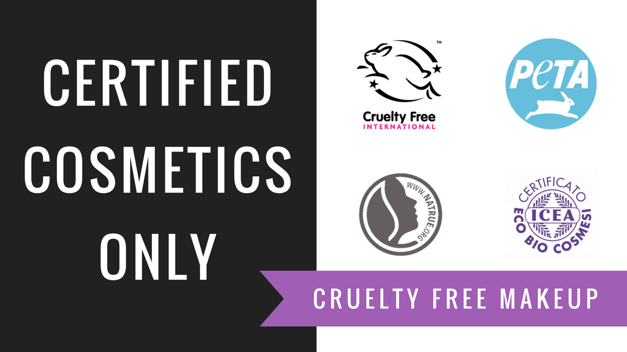certified cosmetics only